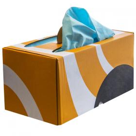 Tuch zum Polieren empfindlicher Oberflächen Ikabox Bragbox 9005