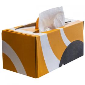 Putzlappen aus weichem Gewebe Ikabox Bragbox Soft 9510