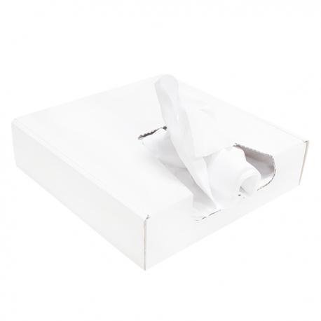 Putzlappen aus Wäscherei-Handtuchrollen