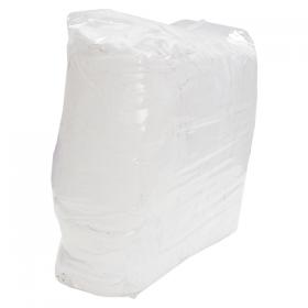 Putzlappen aus Trikot weiß