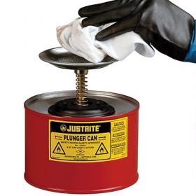 Sicherheitsbehälter mit Kolbenstange 2 Liter