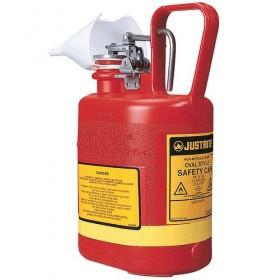 Sicherheitsbehälter für entzündbare Stoffe, 4 Liter (PE)