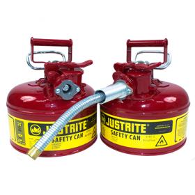 Sicherheitsbehälter für entzündbare Stoffe, 4 Liter (mit Schlauch)