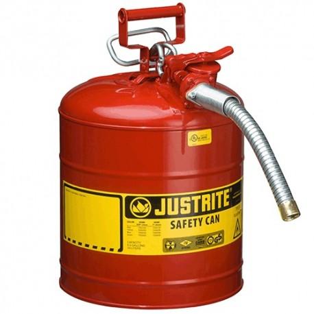 Sicherheitsbehälter für entzündbare Stoffe, 7,5 Liter (mit Schlauch)