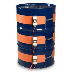Silikonheizmantel für Fässer, Bereich 0-120°C