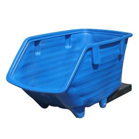 Kippbehälter mit Staplertaschen SkipMaster