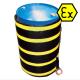 Heizmantel für 200 Liter-Fässer in der Zone ATEX Ex