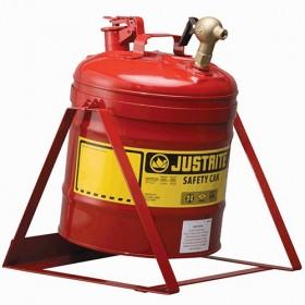 Sicherheitsbehälter für entzündbare Stoffe, 19 Liter (mit Gestell)