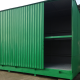 Container zur Lagerung von Gefahrstoffen