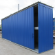 Zweistufiger Container zur Lagerung von IBC