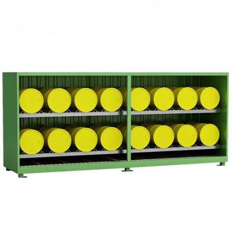 Container für liegende Fässer