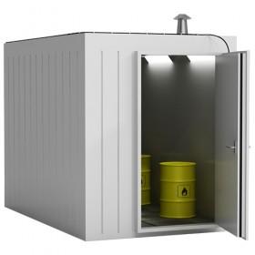 Container -isoliert in der EX-Zone