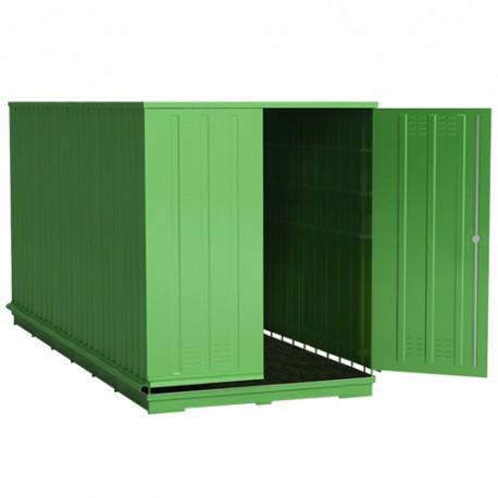 Lagercontainer für Abfälle 48 m3